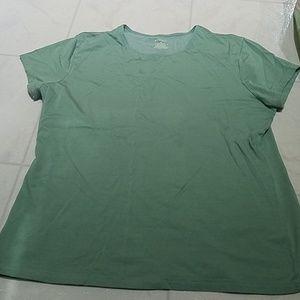 Women's Green Short Sleeve Tee